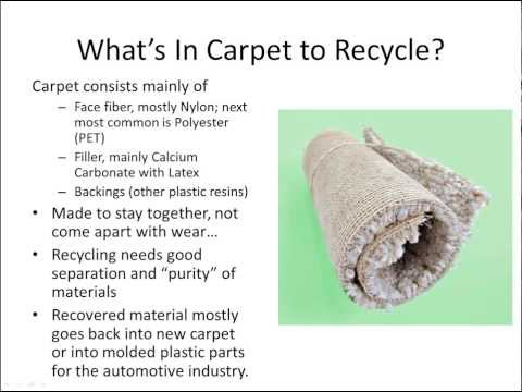 What's Happening with Carpet Recycling
