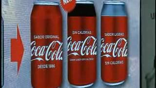Alta Esfera Coca Cola Presentación de Sabores