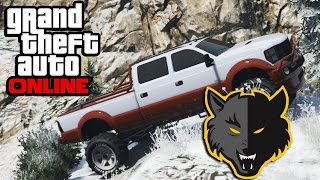 GTA 5: Online - Walking The Mount Chiliad Tourist Trail & Parachuting Off The Top!