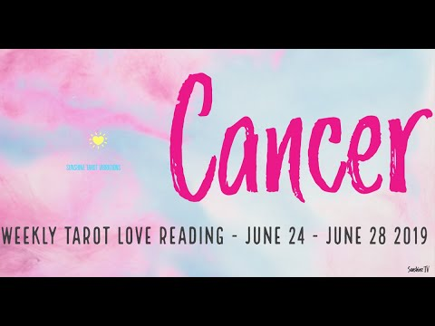 Cancer single love horoscope this week