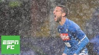 Napoli prevails 2-1 vs Genoa in quagmire   Serie A Highlights