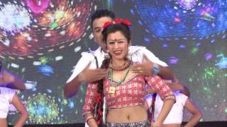 Anjali Adhikari And Shankar BC Performing @ Bindabasini Music Award 2073