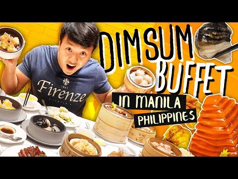 BACON PYRAMID! All You Can Eat DIM SUM Buffet in Manila Philippines