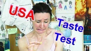 American Food Taste Test  2 - Candy Corn