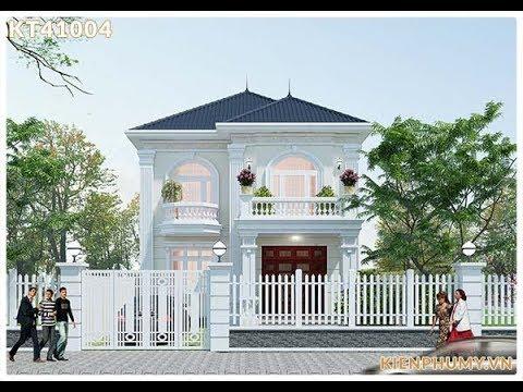Thiết Kế Biệt Thự 2 Tầng Phong Cách Tân Cổ Điển 8x10m Tại Quảng Ninh