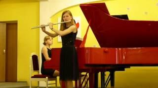 Bach.Sonata C-dur BWV 1033, p.3 - Adajio, p.4 - Menuet