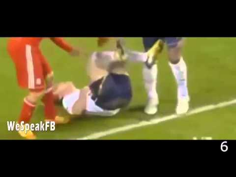 Luis Suarez ● Top 10 Crazy Moments ● Bites   Fights   Red Cards HD
