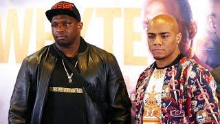 Dillian Whyte vs Oscar Rivas FACEOFF | O2 Sky Sports Boxing