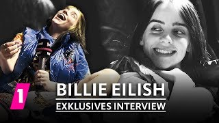Billie Eilish Interview at Lollapalooza 2019 in Berlin | 1LIVE Exclusive