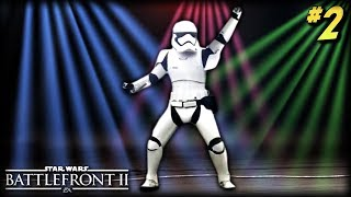 Star Wars Battlefront 2 - Funny Moments #2 (Dancing Stormtroopers!)