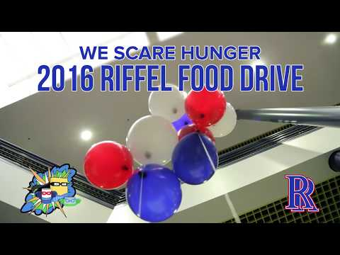 Michael A Riffel high school students are Hunger Heroes