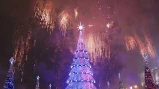 Новогодний Салют в Харькове
