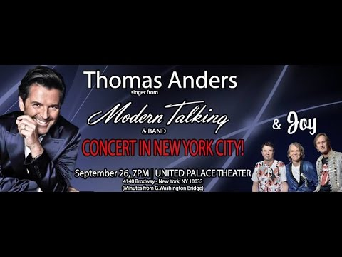 Thomas Anders in New York 2015 - Interview with Uzbek TV New York,Inc