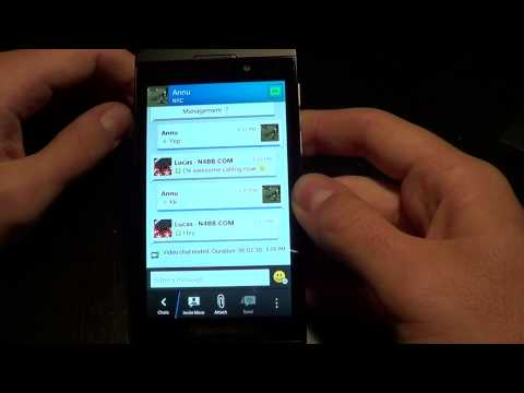 BBM Video Chat With Annu Dawar, RIM's Director Of Handheld Software Product Management