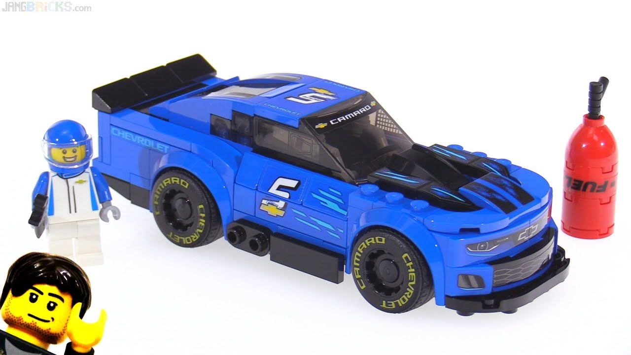 Lego Speed Champions Nascar Chevrolet Camaro Zl1 Review