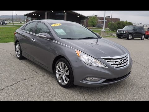 used 2011 hyundai sonata limited 2 0t gray great gas mileage p10232 youtube. Black Bedroom Furniture Sets. Home Design Ideas