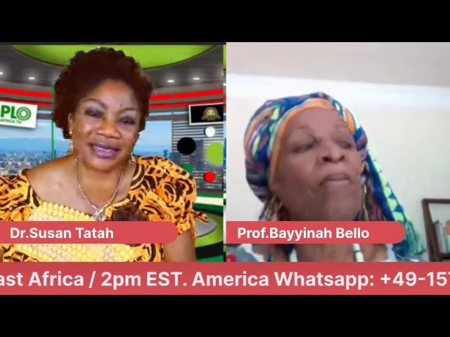 REBROADCAST Tonight with Prof Bayyinah BELLO