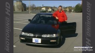 Test Drive: 1990 Acura Integra