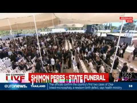 [Live] State funeral for Shimon Peres in Jerusalem