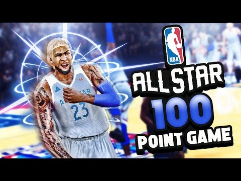 DEMI GOD SCORING 100 POINTS IN THE ALL STAR GAME | LAMELO BALL DEFENSE | NBA 2k17 MyCareer