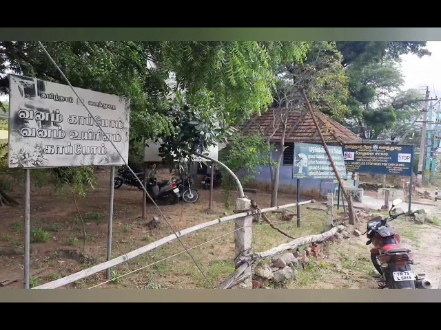கன்னியாகுமரி மாவட்டம் ஆரல்வாய்மொழி வடக்கூர் பகுதியில் மிளாவானது காட்டு பன்றிக்காக வைக்கப்பட்ட வெடியி
