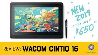 Wacom Cintiq 16 Review (A $650 Wacom Drawing Tablet!)