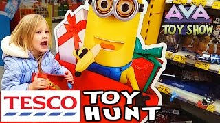 TESCO Toy Hunting Shopping Vlog on Ava Toy Show