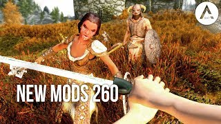 5 Brand New Console Mods 260 - Skyrim Special Edition (PS4/XB1/PC)