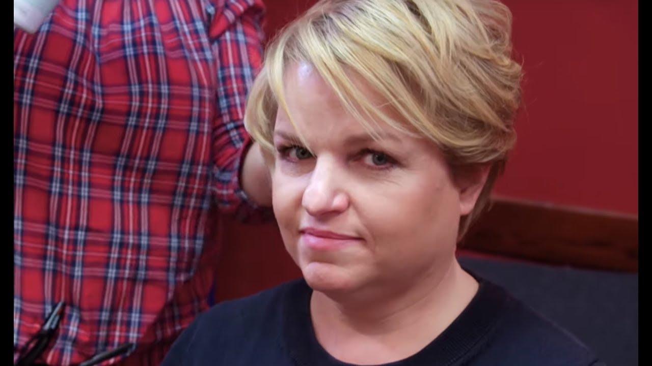 Katarzyna Bosacka Miała Ocenić Efekt Ich Pracy Czy Podobała Się Jej Nowa Fryzura Ostre Cięcie