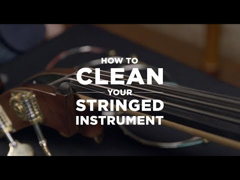 D'Addario Core: How to Clean Your Instrument