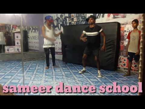 Teri Kaali Ankhiyon Se Jind Meri Present By Sameer Dance School And Funny Video