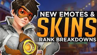Overwatch: NEW Skins & Emotes! - Jeff's Rank Breakdown