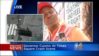 Witnesses Help Hold Down Times Square Crash Suspect