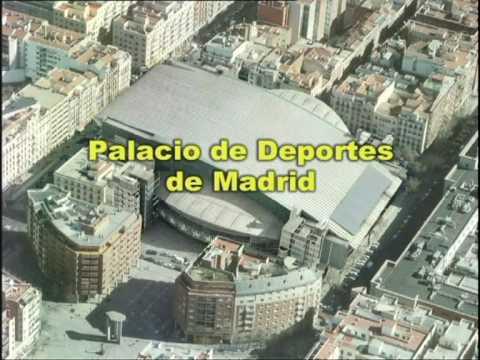 Palacio de los deportes comunidad de madrid 1 de 2 youtube - Pabellon de deportes de madrid ...