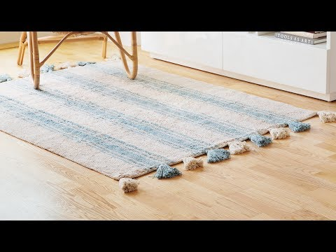 A rug that cleans up after itself.