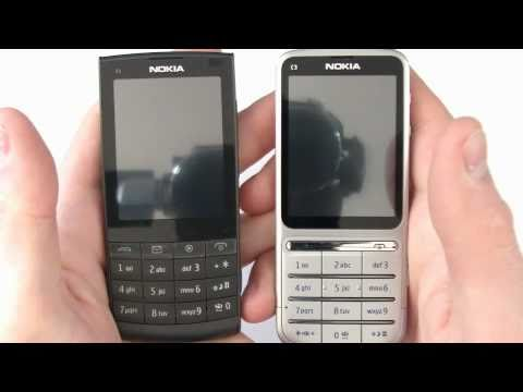 Comparaison Nokia X3-02 et C3-01 Touch and Type - par Test-Mobile.fr