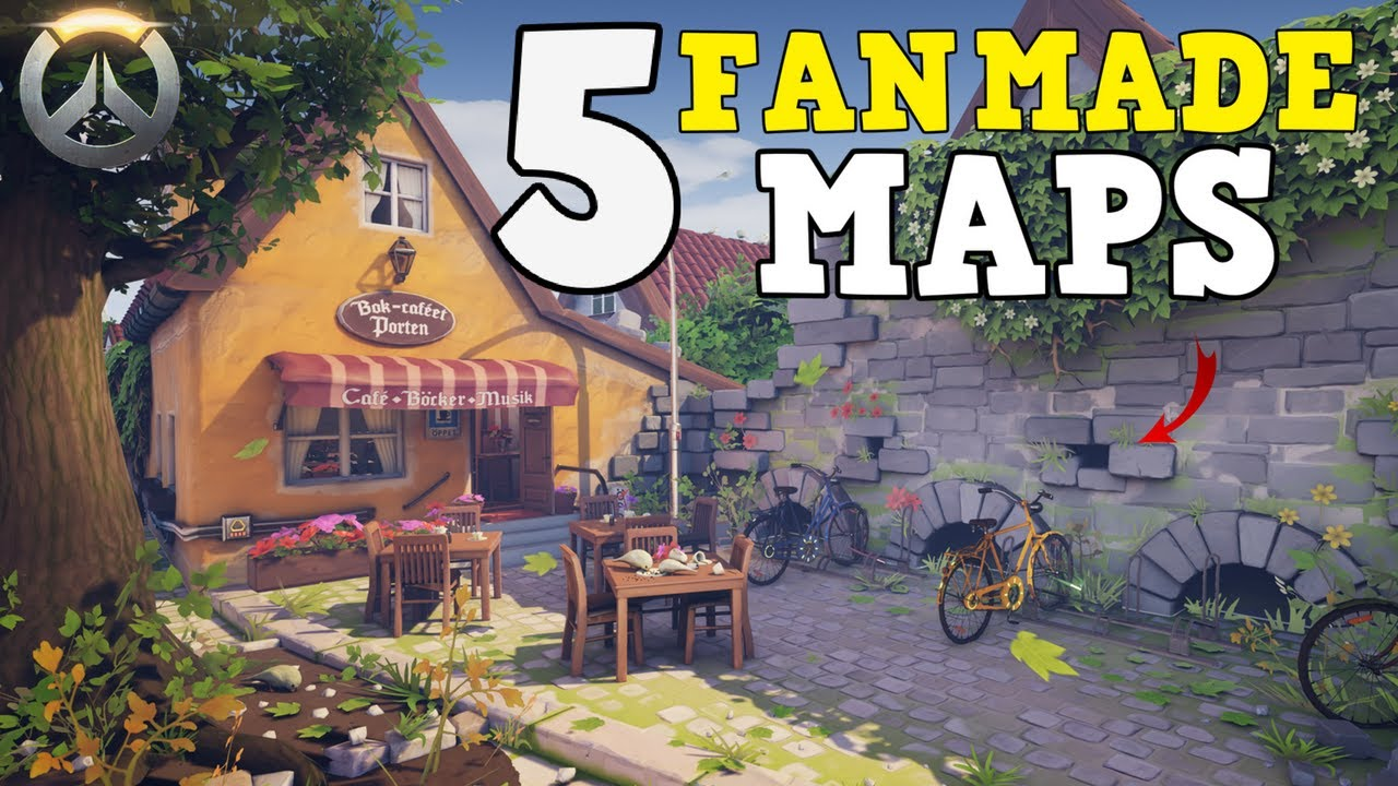 Overwatch gameplay top 5 fan made map concepts youtube overwatch gameplay top 5 fan made map concepts sciox Gallery