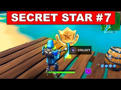 WEEK 7 SECRET BATTLE STAR LOCATION SEASON 9 FORTNITE Find The Secret Battle Star In Loading Screen 7