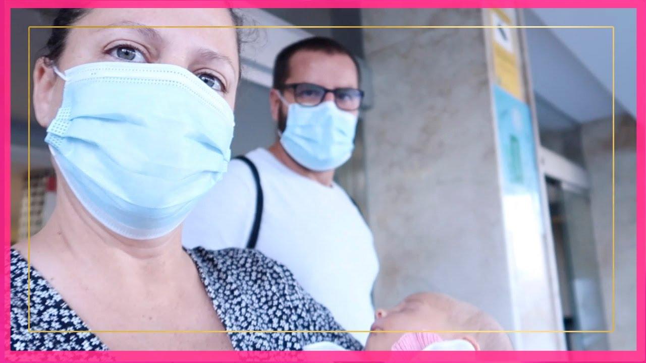 SALIMOS DEL HOSPITAL · NUESTRA FAMILIA CONOCE A EMMA