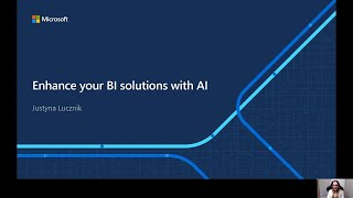Enhance your BI solutions with AI   OD248