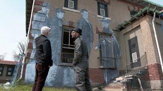 Artist's hidden message on Ellis Island