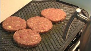 آموزش برگر رستورانی راز پفکی شدن همبرگرهای حرفه ای جوادجوادی