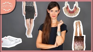 How to create original outfits from your basic pieces ǀ Capsule wardrobe fall 2018 ǀ Justine Leconte