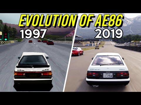Evolution Of AE86 In Gran Turismo