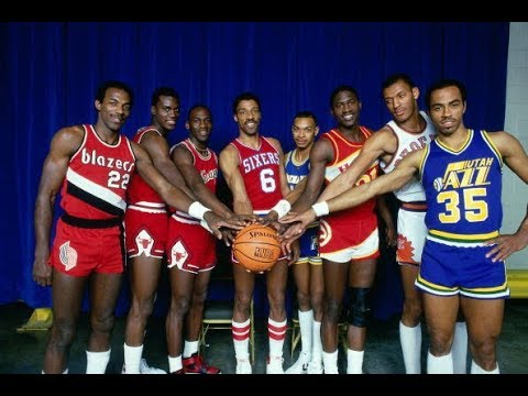 1985 Slam Dunk Contest in Indiana at NBA All Star Weekend