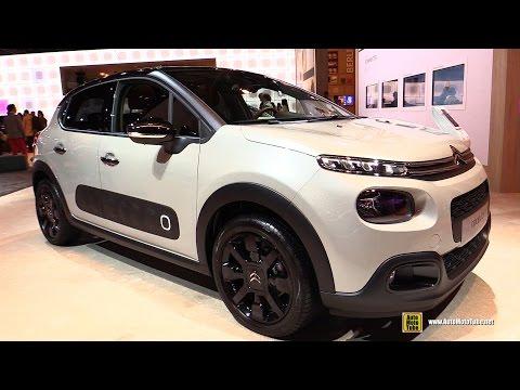 2017 Citroen C3 Diesel 100hp - Exterior and Interior Walkaround - 2016 Paris Motor Show