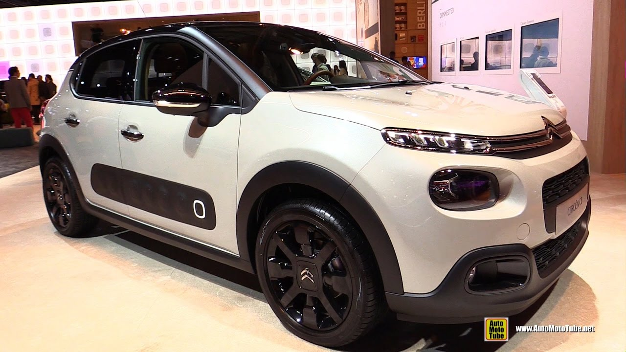 2017 citroen c3 diesel 100hp exterior and interior walkaround 2016 paris motor show youtube. Black Bedroom Furniture Sets. Home Design Ideas
