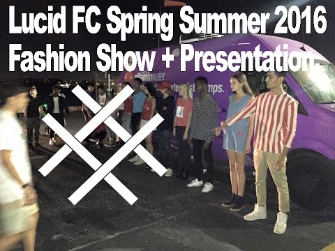 Lucid FC SS 16 Fashion Show NYFW @ FLYBlade Helicopter Lounge