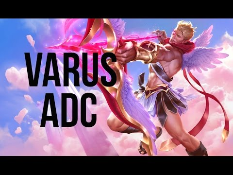 League of Legends - Heartseeker Varus ADC - Full Game Commentary