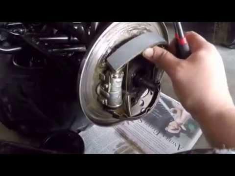 HOW TO INSTALL Honda Fourtrax ATV Front Brakes